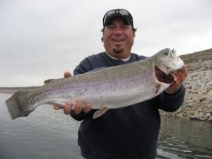 Caveman's 7.5 pound Rainbow Trout